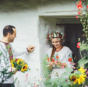 В Черкассах возрождают старинную украинскую традицию делать свадебные венки