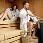 Посещение сауны утомляет не меньше спортзала