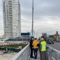 В Киеве правоохранители проводят осмотр Шулявского моста