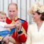 Кейт Миддлтон в лимонном платье и шляпке блистала на параде в Лондоне