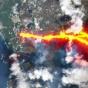 Спутники засняли новое извержение вулкана Ла-Пальма