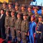 Форма парашютистов КНДР напомнила Капитана Америку