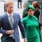 Принц Гарри иМеган Маркл обрадовались выходу изкоролевской семьи