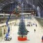 Самая высока в мире новогодняя елка LEGO