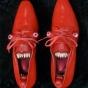 Шокирующая мода: туфли-лица