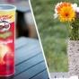 ТОП 10 замечательных вещей, которые легко смастерить из цилиндрической упаковки из-под чипсов (ФОТО)