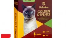 Ошейник для кошек от блох и клещей Palladium  Golden Defence