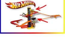 Гоночный трек Хот Вилс - Hot wheels