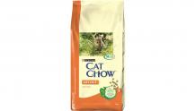 Сухой корм для взрослых кошек Cat Chow с курицей и индейкой