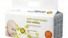 Фито-подгузники Sun Herbal