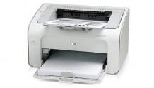 Лазерный принтер Hewlett Packard (HP) LaserJet P1005