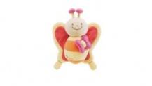 Подвесная игрушка на кроватку CHICCO «Музыкальная бабочка»