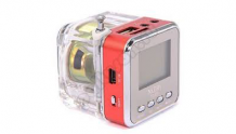 Динамик Portable Colorful LED Crystal Speaker