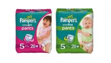 Подгузники-трусики Pampers® Active Boy и Active Girl