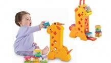 Жираф с кубиками Fisher Price