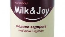 сгущенное молоко Milk and Joy