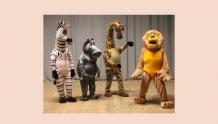 Театр ростовых кукол - спектакль Мадагаскар