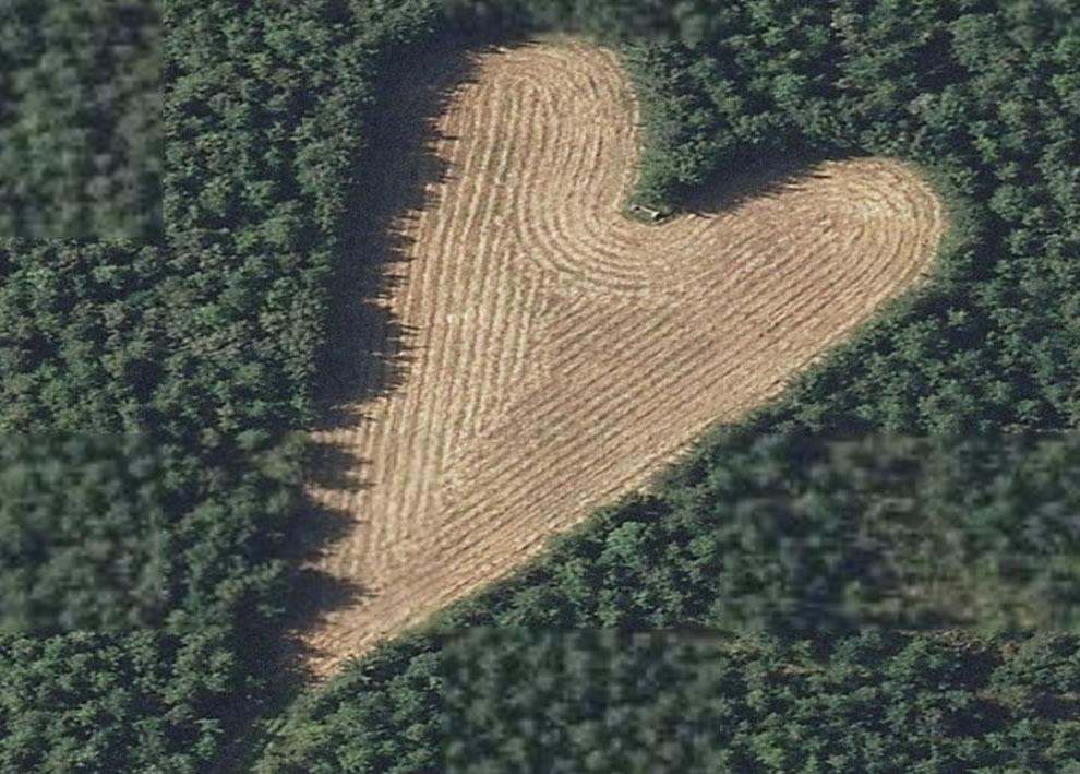 сердечко из земли картинка ручному прибору можете