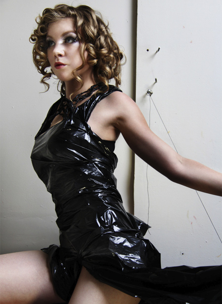 Plastic Garbage Bag Dress