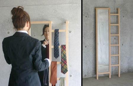 Зеркало лестница