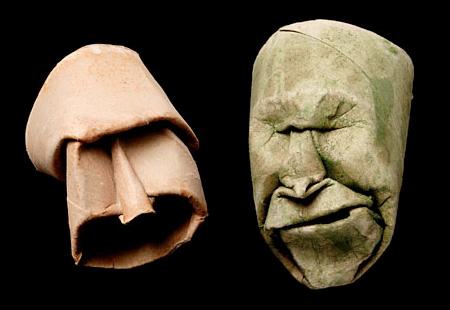 Выразительная мимика и пластика картона.  Работы Джуниора Фрица Жака - фото 9.