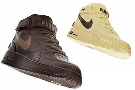 ...в виде кроссовок Найк были созданы в честь 25 годовщины Nike Air Force.