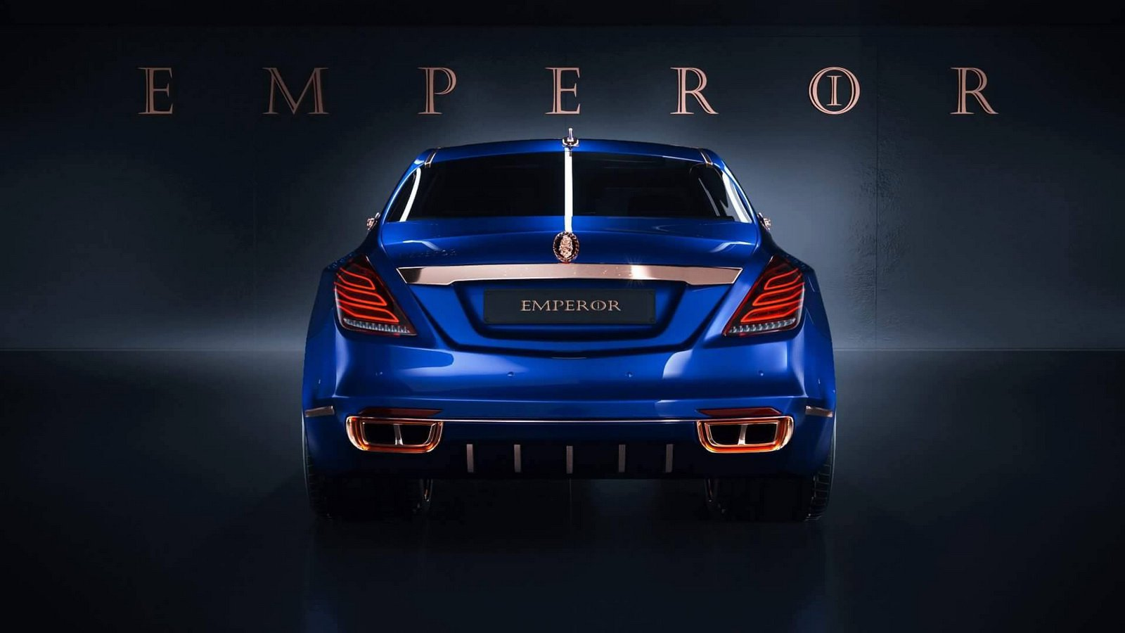Mercedes-Maybach S600 Emperor I