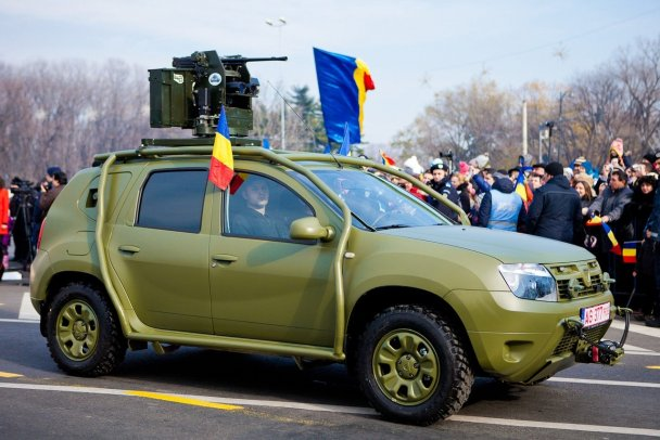 Renault Duster Army