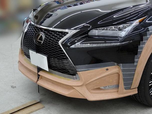 Lexus NX Black Bison